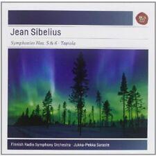 Sibelius / Jukka-Pek - Symphonies Nos 5 & 6 / Tapiola [New CD]