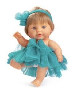 Babypuppe mit 22 cm Mädchen blond Neu