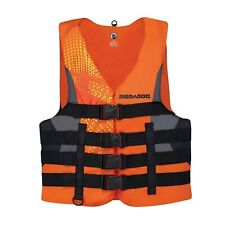 SEA-DOO MEN'S MOTION LIFE JACKET P/N 2858761412 2XL ORANGE