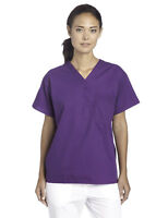 Scrub Top NEW Purple Unisex S Small Medical Uniform Men's Women's A60