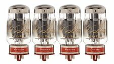 New 4x Genalex Gold Lion KT88 | Factory Matched Quad / Quartet / Four Tubes
