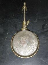 burette a huile LUCAS ronde pour voiture ou moto ancetre avant 1914