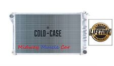 68-72 Chevelle GTO 442 Cutlass Skylark  Cold-Case aluminum radiator w/ Man trans