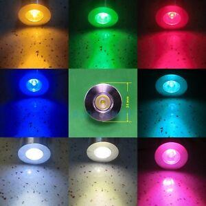 1W 3W D34 E26 UV Purple Cyan Red Blue Cold Warm White LED Lamp Bulb Spot Light