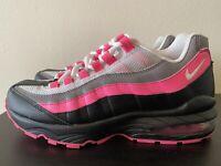 Nike Air Max 95 (GS) Pink Blast| White Size 7Y Women's 8.5 905348-030