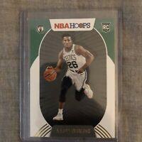 2020-21 NBA Hoops Aaron Nesmith RC Holiday #202 Boston Celtics Rookie Card