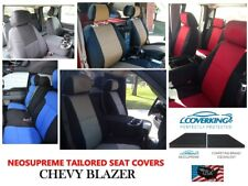 Chevy Blazer Coverking Custom Tailored Front Neosupreme Front Seat Covers