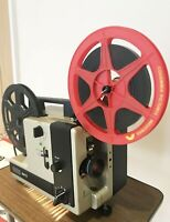EUMIG 614D Super 8 Standard 8 Cine Movie Film Projector Fully Serviced