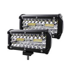 7inch 120W 40LED Strip Light Refit Off-road Vehicle Roof Light 12-24V Waterproof