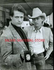 "Michael Pare Michael Beck Houston Knights Original 7x9"" Photo #K4347"