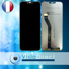 """Ecran complet Vitre tactile + LCD pour Motorola Moto G7 Power XT1955 6.2"""" NOIR"""