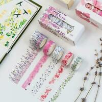 10 Rolls/set Washi Tape Scrapbooking Masking Tape Japanese Decorative Paper DIY