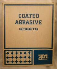 """3M 9"""" X 11"""" Coated Abrasive Sheets Grit 220-A 50 Count (2)"""
