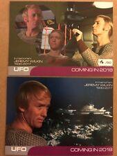 UFO: PROMO CARDS: PREVIEW SET - JEREMY WILKIN IN MEMORIAM - PR1 & PR2