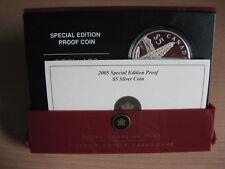 CANADA 2005 5 dollars ALBERTA centennial UNC Box CoA  #15.697