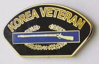 KOREA KOREAN WAR VETERAN CIB COMBAT INFANTRY LAPEL PIN BADGE 1 INCH