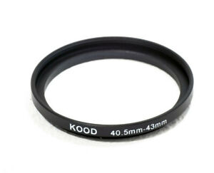 Kood Stepping Ring 40.5mm-43mm Step Up ring 40.5 - 43mm 40.5mm to 43mm ring UK