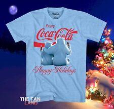 New Coca-Cola Coke Polar Bears Men's Christmas Vintage Classic T-Shirt