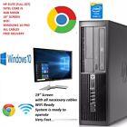 """Dell Hp Core I5 Pc Computer 4gb 500gb 19"""" Screen Windows10 Pro  Wifi Full Set"""