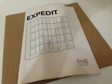 Ikea Genuine Replacement Part 14729 Expedit Instruction Manual Book Booklet NEW!