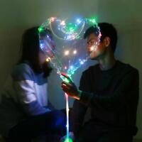 Transparen Leuchtende LED Luftballons Geburtstag Aufleuchtend Hochzeit Licht HOT