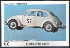 TYPHOO (TEA)-WONDERFUL WORLD OF DISNEY-#44- HERBIE RIDES AGAIN
