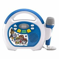 Paw Patrol Bluetooth Sing Along Portable MP3 Player Real Working Microphone...