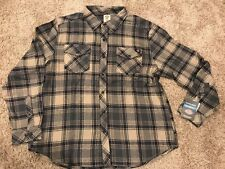 NWT Men's Dickies Relaxed Fit Flannel Shirt Size 2XL MSRP $45