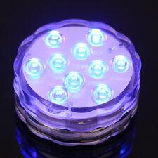 Unterwasser Wasserdicht Lampe Fernbedienung RGB LED Hochzeit DekoBadewanne Pool
