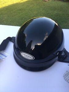 THH Iron Pony Half Motorcycle Helmet Large Brand New
