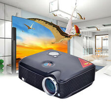NEW 3D 2500LM Home Cinema Theater LCD PC Projector HDMI TV Video USB HD 1080P US