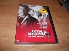 Lethal Weapon 4 Richard Donner Film (DVD 1998) Mel Gibson Joe Pesci Action Movie