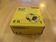 Cooper Bussmann W-25 Fuses Fuse Box of 4