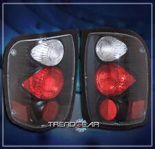 1998-2001 FORD RANGER ALTEZZA BRAKE TAIL LIGHTS LAMP BLACK 1999 2000 XLT EDGE BK