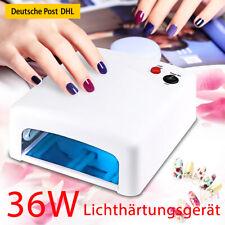 UV Lampe Lichthärtungsgerät 36W eckig Nagel Nageltrockner für UV Gel Nägel Dryer