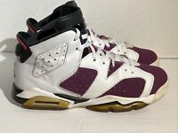 Air Jordans Retro 6 Youth Size 6.5 Purple Black Red