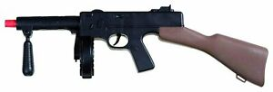 Tommy Gun Toy Thompson Machine Gangster Costume Plastic Accessory Noise