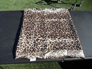 New 100% polyester microfiber sheet king Leopard print