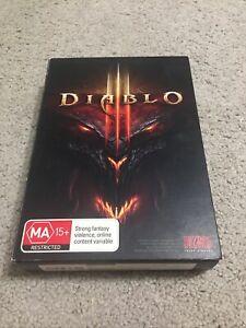 Diablo III 3 PC Game Windows Blizzard 2012 Original Box Manual Bundle