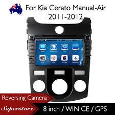 "8"" Car DVD Nav GPS Head Unite Stereo For Kia Cerato Manual-Air 2011-2012 Model"