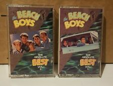 Cassette Lot: The Beach Boys -  The Absolute Best Vol 1 and Vol 2