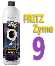 FritzZyme9 8oz Saltwater Aquarium Nitrifying Bacteria Fritz FritzZyme 9