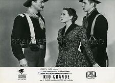 JOHN WAYNE   MAUREEN O'HARA   RIO GRANDE  1950  VINTAGE PHOTO ORIGINAL #1