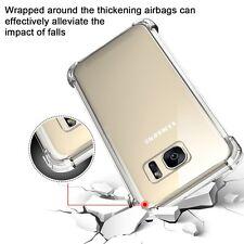 Funda Gel TPU Proteción Esquinas Transparente para Samsung Galaxy S7 G930