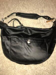 Coach  Purse Handbag Shoulder Bag Satchel Black KO4J-1892