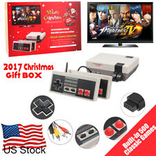 Mini Vintage Retro TV Game Console Classic 500 Built-in Games 2 Controllers ZC