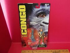 "Congo The Movie Karen Ross 4.5""in Action Figure w/ cannon & power diamond!"