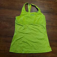 ZOOT Women's XL Moonlight Racerback - Spring Green Yellow. Triathlon Tank Top
