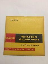 "Kodak Wratten No. 82A Gelatin Filter 3"" Square - NEW"