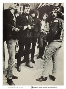 Grateful Dead - POSTER - Jerry Garcia Bob Weir Phil Lesh - AMAZING Wall Art PIC!